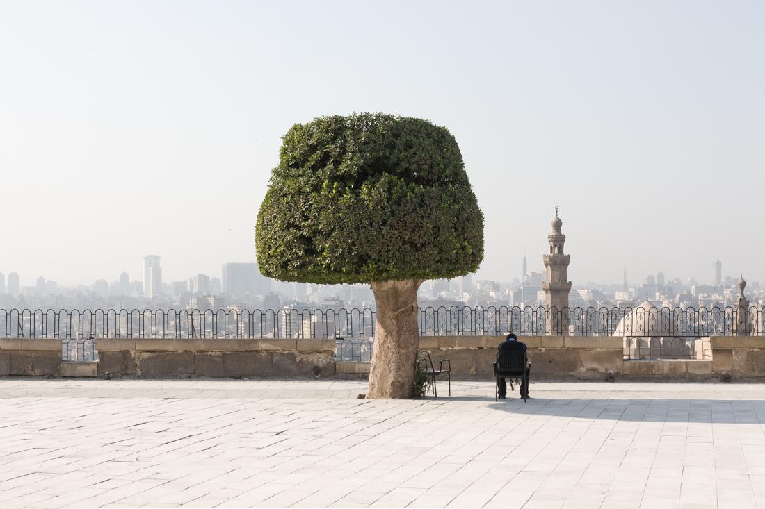 uitzicht vanaf el-qalaa
